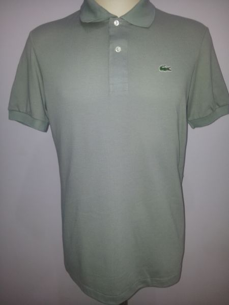 400f6c540043f Camisa gola polo Lacoste verde mar escuro - Aproveite Imported Clothes